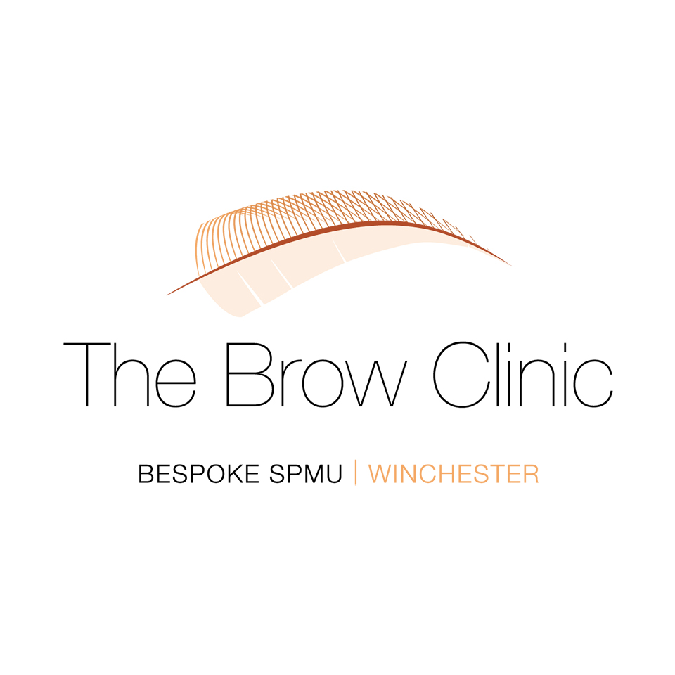 The Brow Clinic Logo | Ultraviolet in print